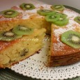 Torta soffice kiwi e mascarpone una torta meravigliosa