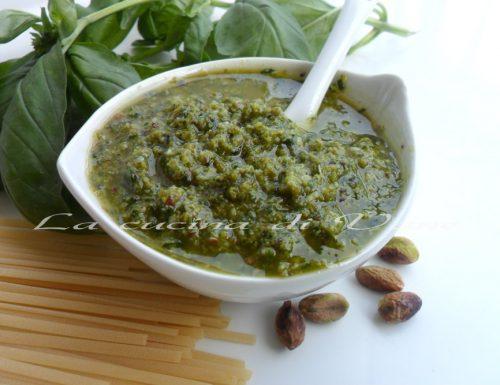 Pesto ai pistacchi ricetta con bimby e senza