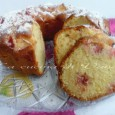 Torta soffice mela fragole e limone