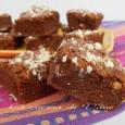Brownies al doppio cioccolato ricetta con bimby e senza