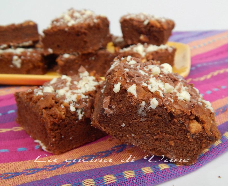 brownies al doppio cioccolato