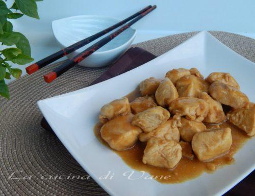 Pollo alla salsa di soia