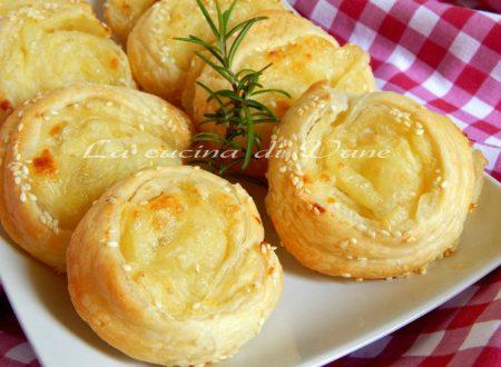 Girelle patate e mozzarella ricetta golosa