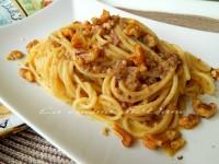 Spaghetti ricotta e noci primo goloso