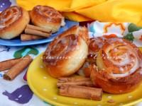 Cinnamon Rolls Girelle alla cannella