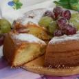 Torta soffice uva e mascarpone