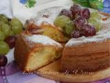 torta soffice uva e mascarpone ricetta