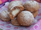 biscotti morbidi alla nutella con cuore cocco