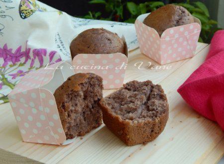Muffin panna e nutella