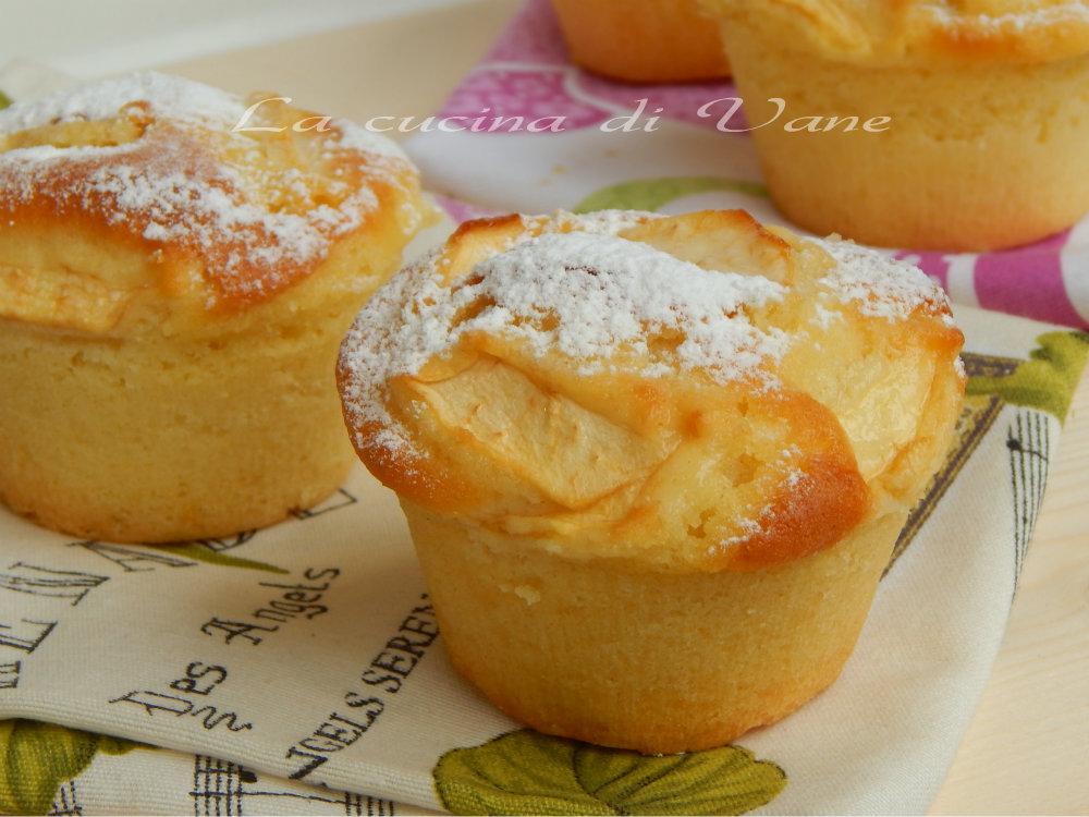 Conosciuto Muffin sofficissimi yogurt e mele JL96