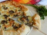 torta salata patate funghi e mozzarella