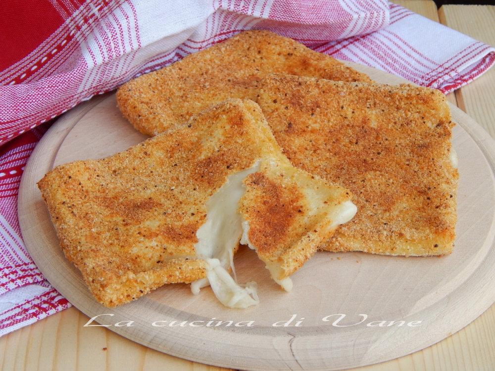 Mozzarella in carrozza al forno for Ricette mozzarella in carrozza al forno