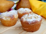 muffin ricotta e pere
