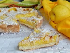 crostata limone e cocco