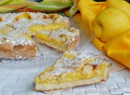 Crostata cocco e limone