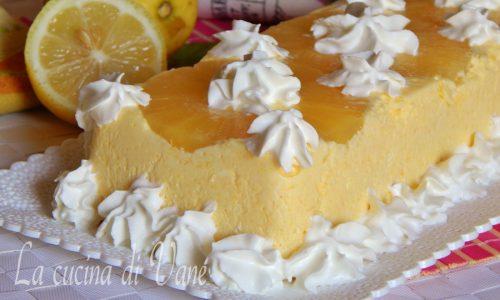 Bavarese ananas e limone fresca e golosa