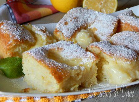 Quadrotti cremosi limone
