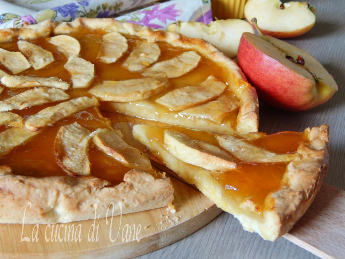 Crostata di mele e marmellata for Crostata di mele