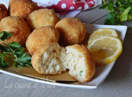 Crocchette di pesce al profumo di limone