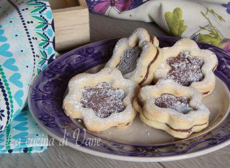 Biscotti golosi cocco e Nutella