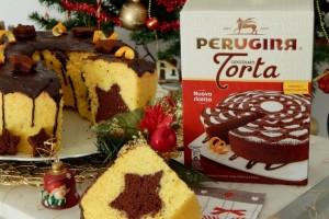 Chiffon cake di Natale