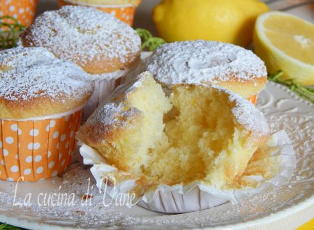 Muffin soffici yogurt e limone senza olio e burro