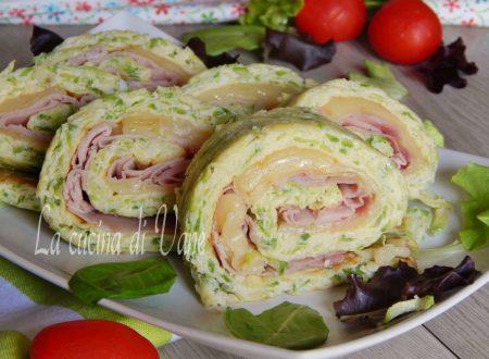 Girelle zucchine prosciutto e scamorza