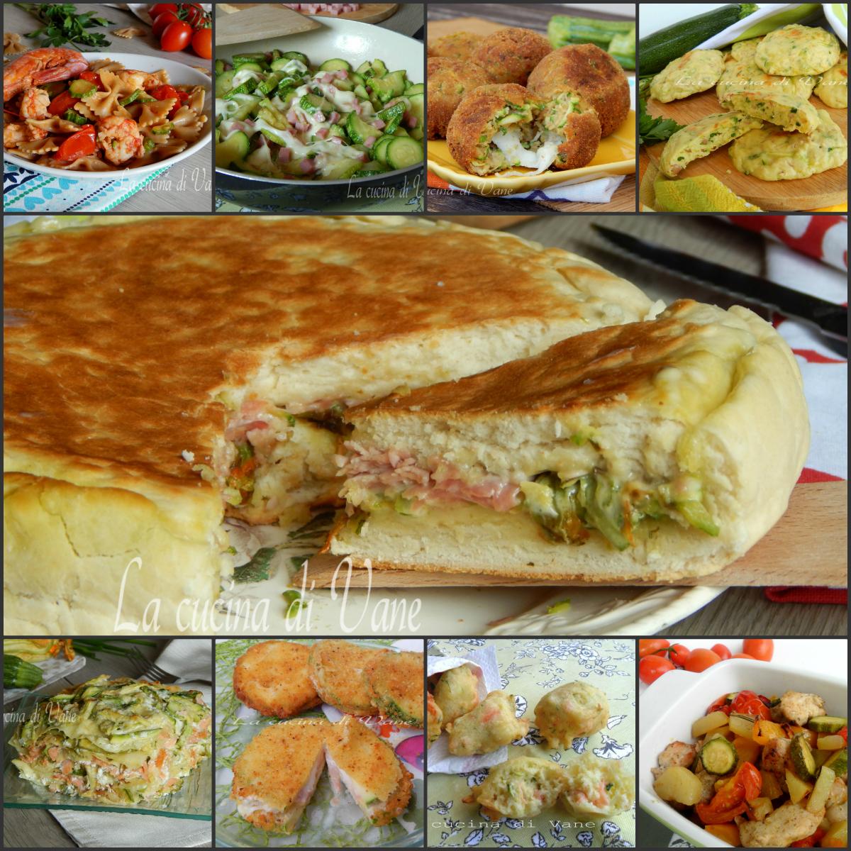 zucchine dieci ricette facili e gustose