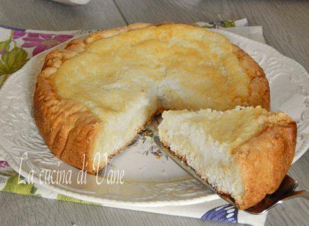 Crostata morbida al cocco