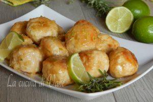 Polpettine di pollo al lime