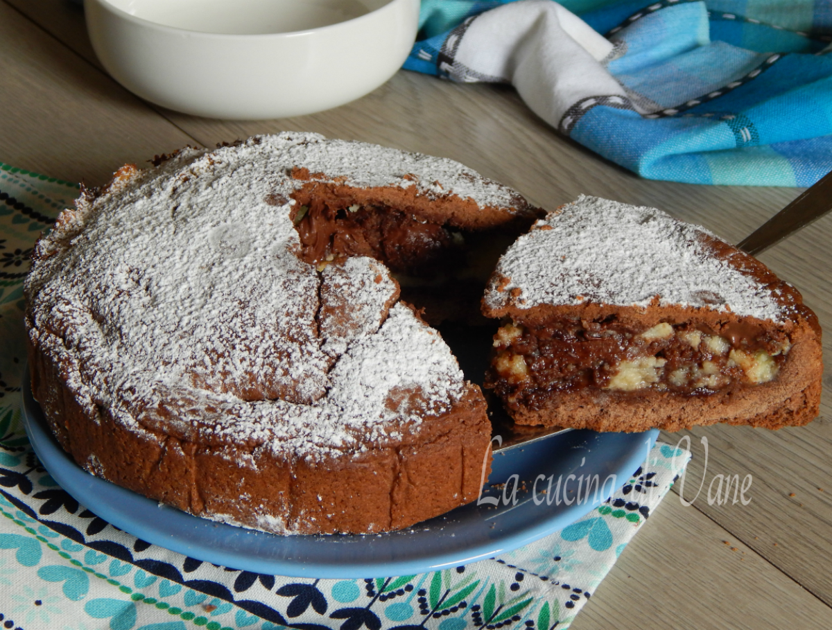 Costata morbida nutella e mascarpone
