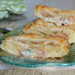 Rustico con patate mortadella e gorgonzola