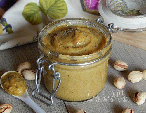 Crema spalmabile di pistacchio