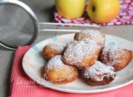 Frittelle di ricotta e mele