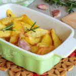 Patate al forno perfette croccanti dorate e gustose