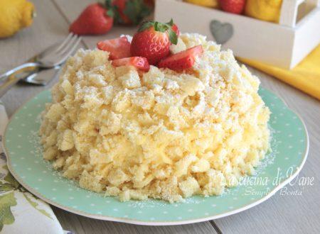Torta mimosa al limone