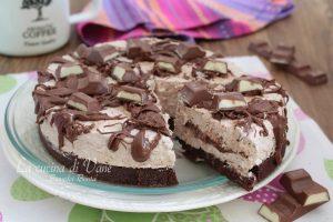 Torta fredda con cioccolato Kinder