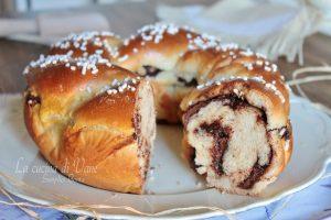 Pan brioche ricotta e Nutella