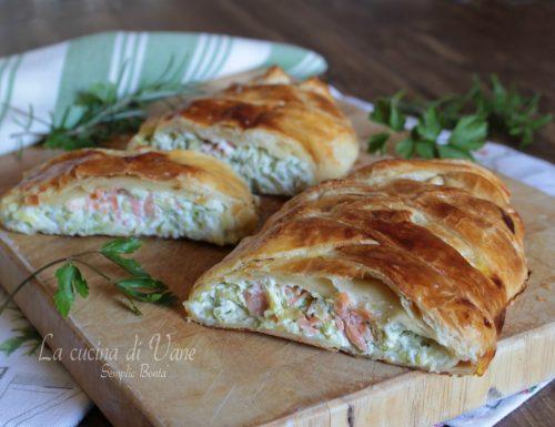Rustico zucchine e salmone