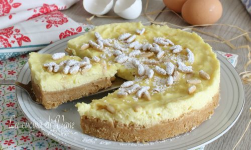 Torta fredda Torta della nonna