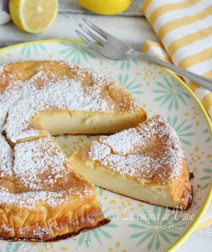 Torta Al Limone Cremosa Senza Farina