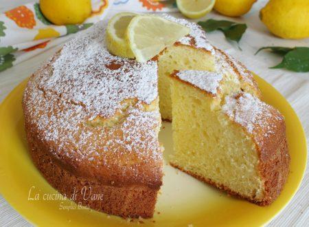 Torta al limoncello e mascarpone soffice e profumata
