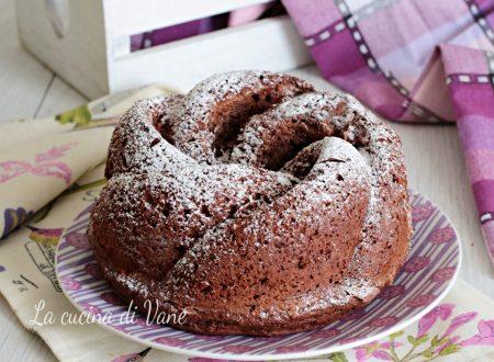 Torta ricotta e cioccolato con Bimby e senza