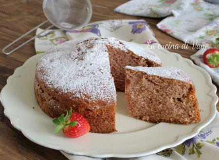 TORTA PAN DI FRAGOLE dolce con fragole frullate