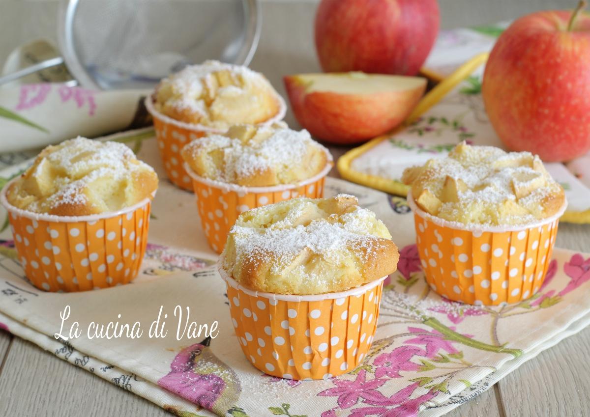 Ricetta Muffin Di Mele.Muffin Alle Mele Con Farina Di Riso Impasto Dolce Senza Glutine