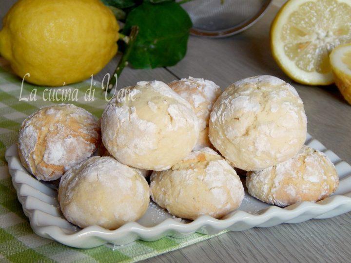 biscotti morbidi al limone ricetta