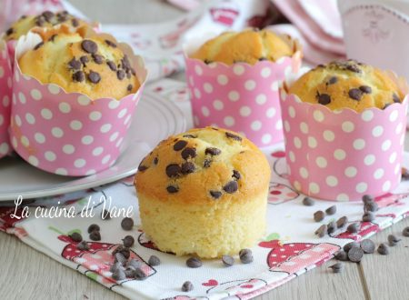 Muffin 8 cucchiai senza bilancia e senza fruste