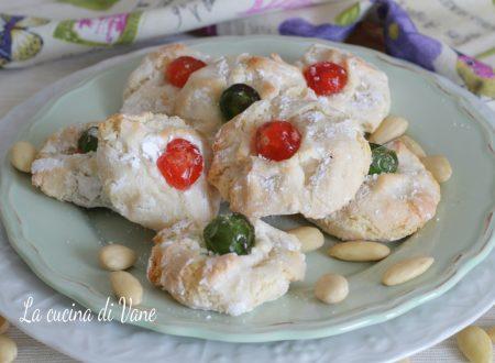 PASTE di MANDORLE biscotti siciliani