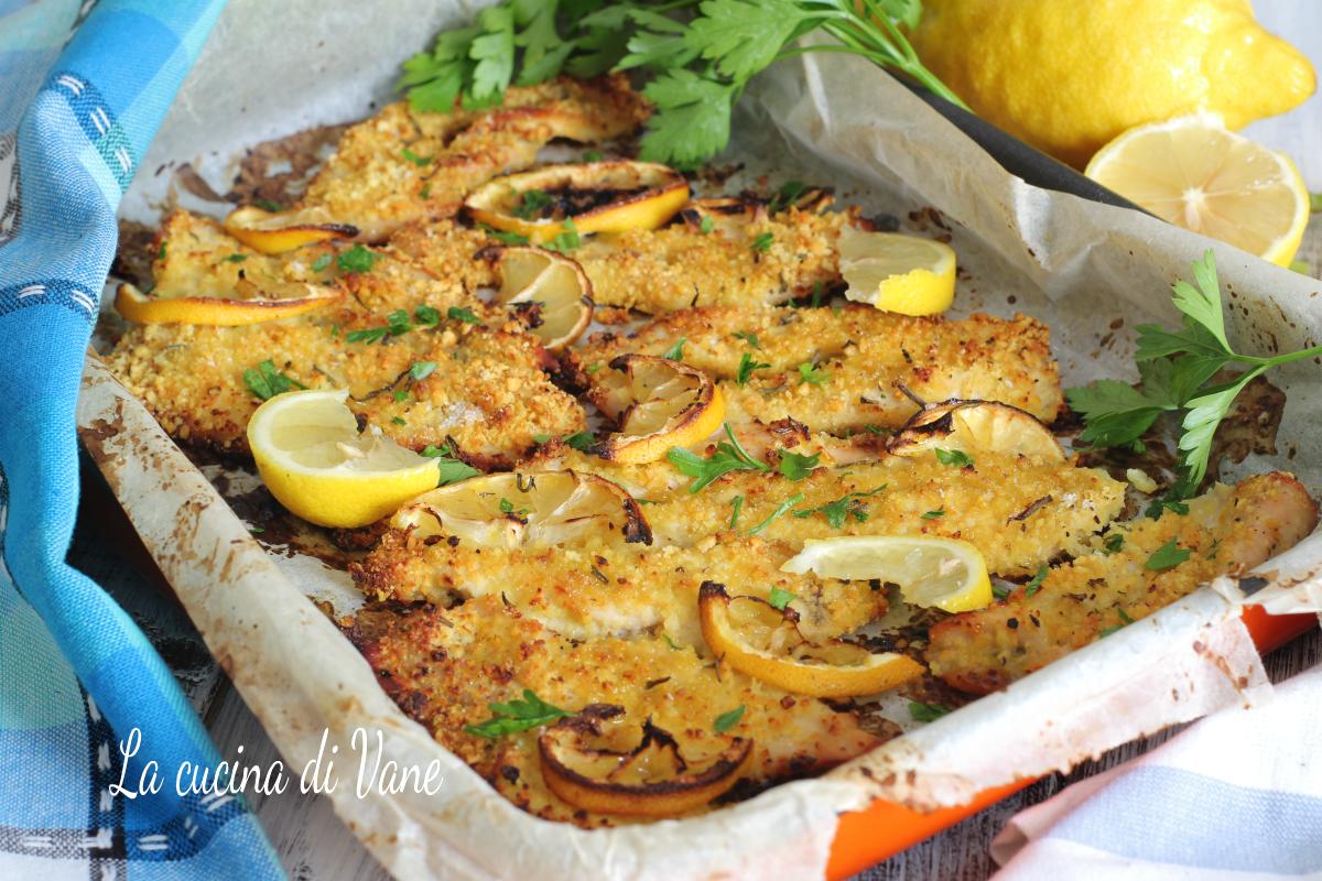 pollo al limone croccante al forno