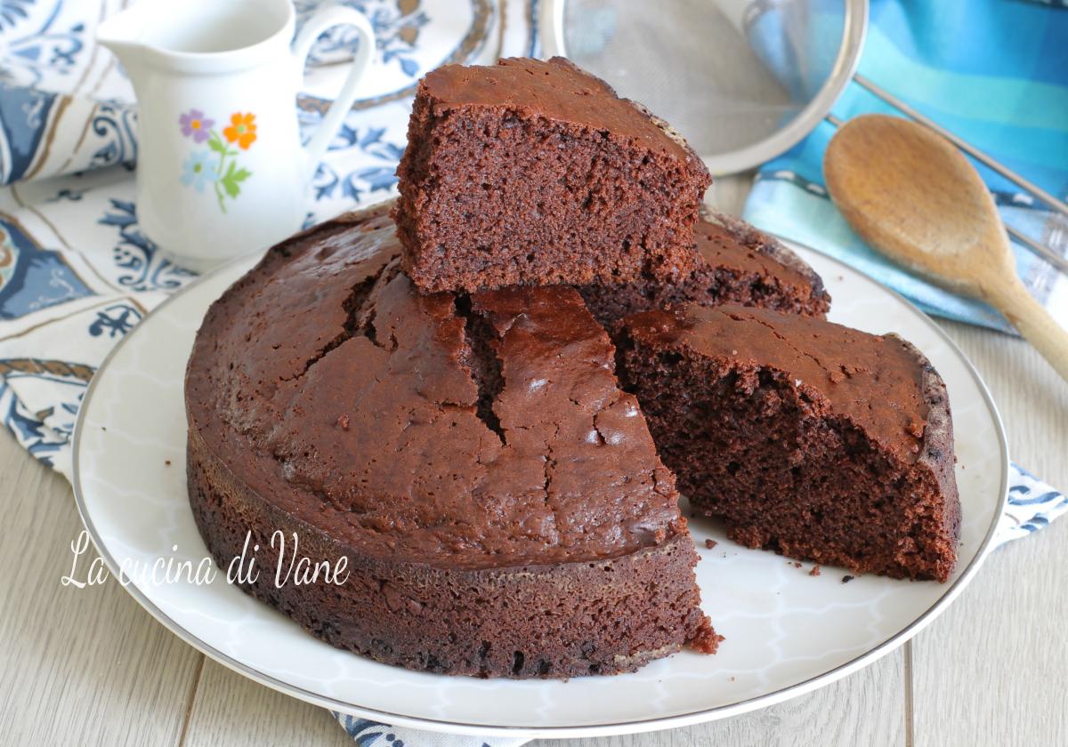 Torta Senza Uova Al Cioccolato.Torta Al Cioccolato Senza Uova Soffice E Golosa